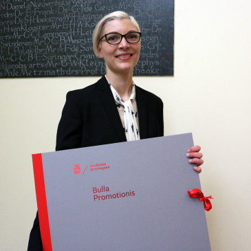 Congratulations Dr. Barbara Nordhjem!